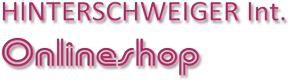 HINTERSCHWEIGER WEBSHOP-Logo